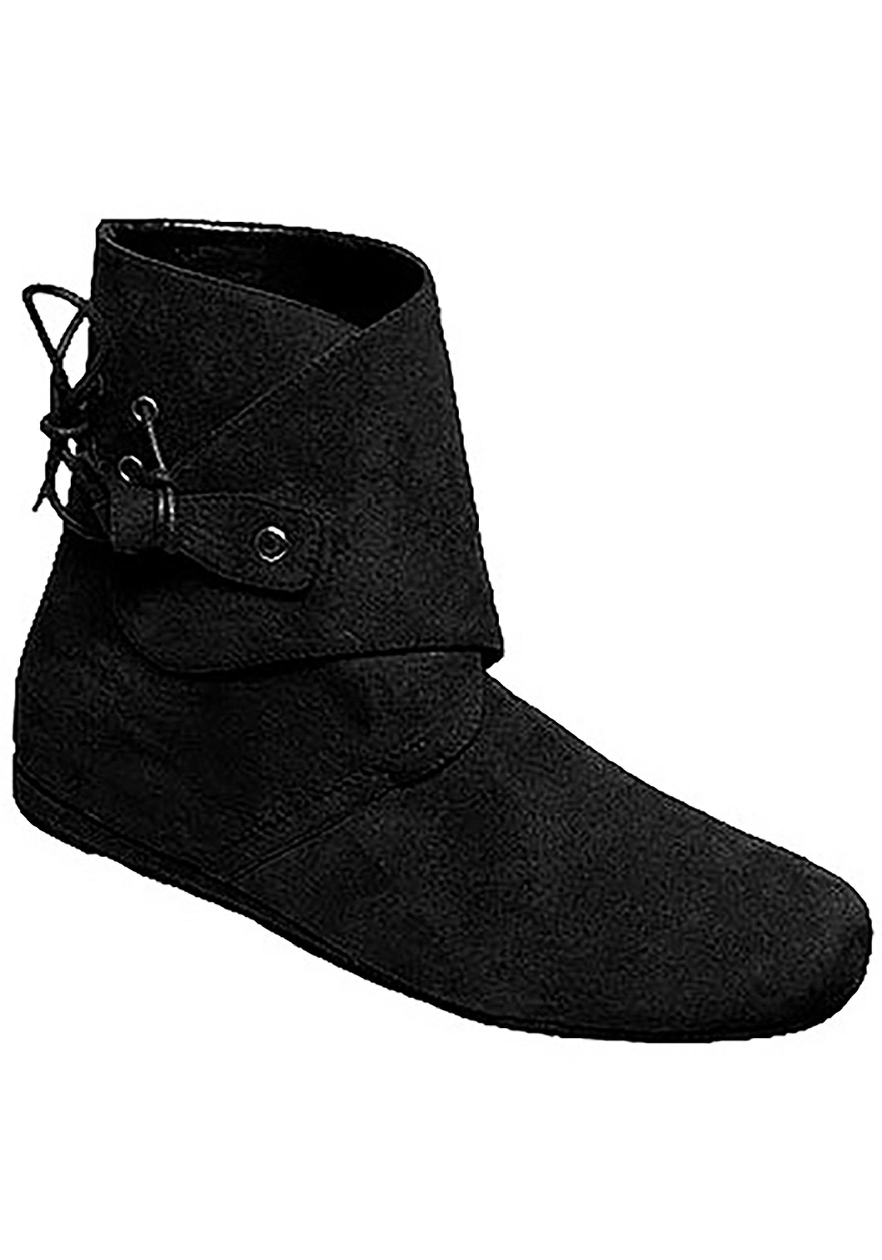 Men's Black Renaissance Shoes