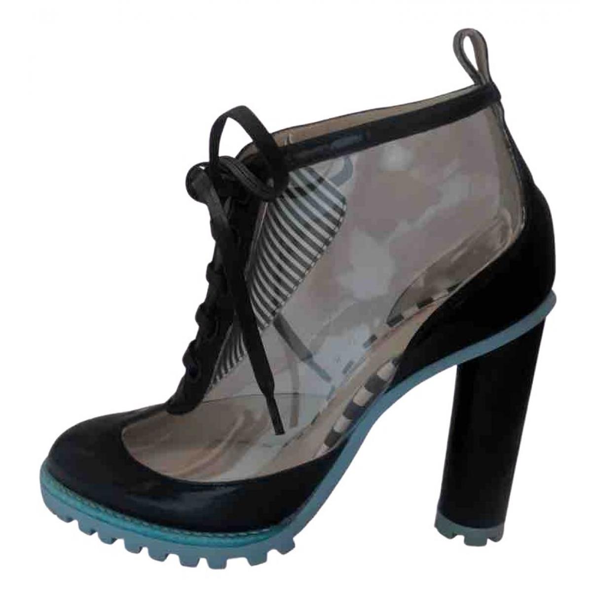 Sophia Webster \N Black Ankle boots for Women 38 EU
