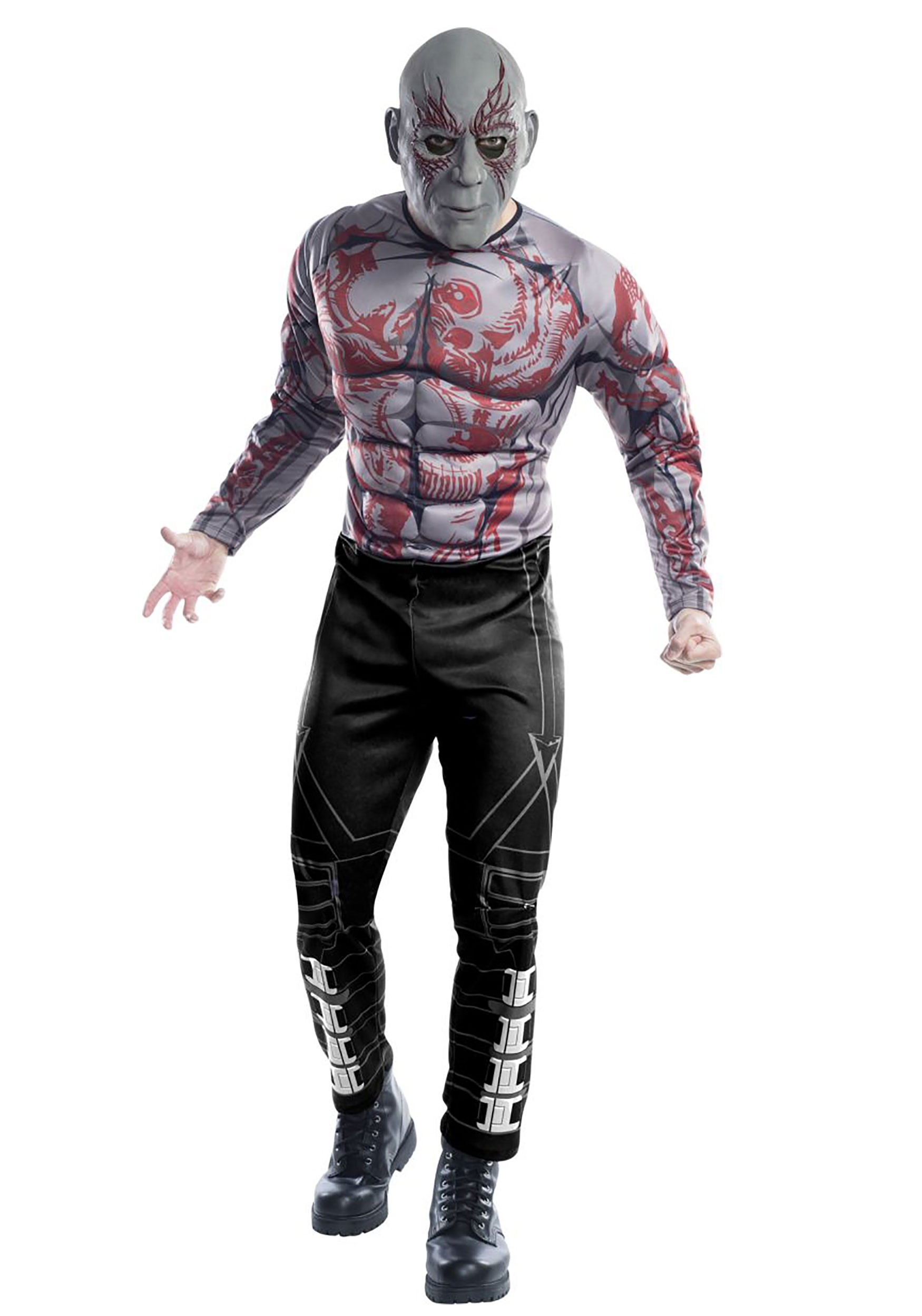 Adult Guardians of the Galaxy Deluxe Drax Costume