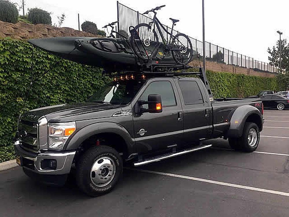 US Rack 82580311 Fifth Wheel 6 Truck Bed Rack Black Mild Steel Dodge Ram 1500 | Ram 2500 | Ram 3500