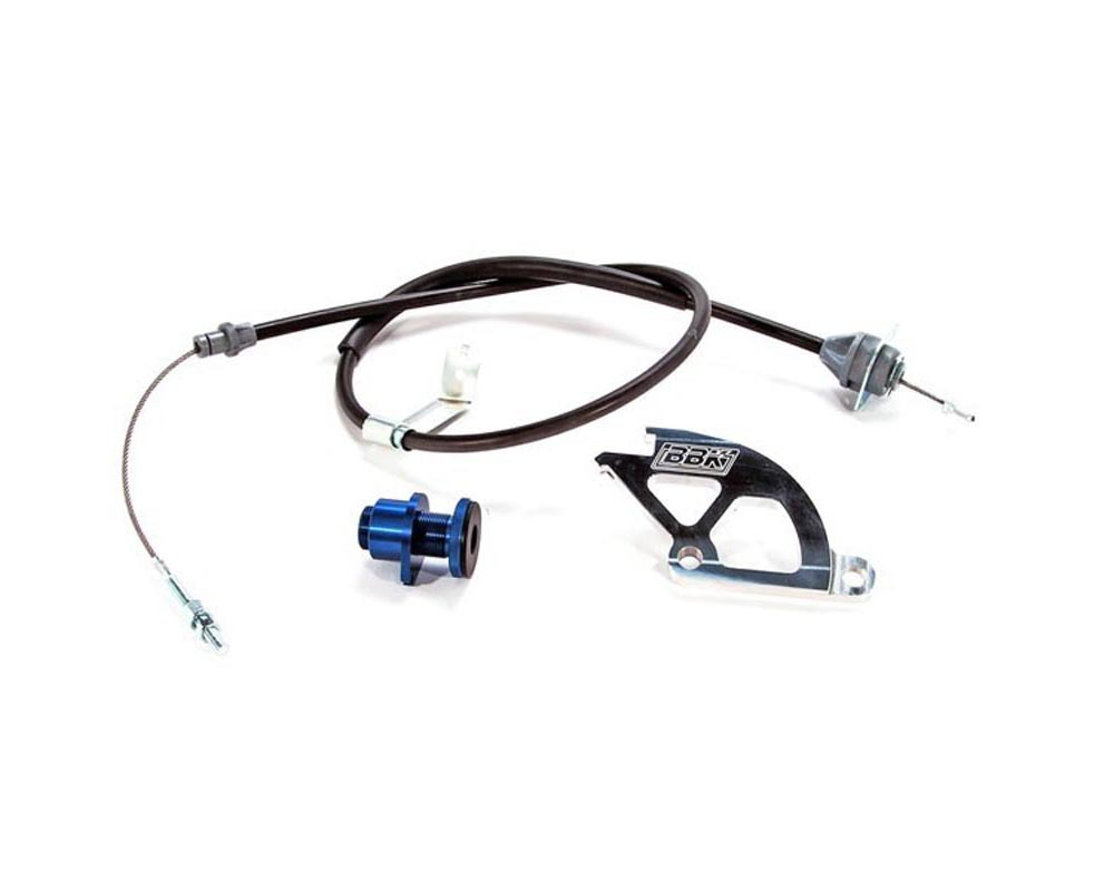 BBK 15055 Performance Parts 1979-1995 MUSTANG HD ADJ CLUTCH CABLE QUADRANT & FW ADJUSTER Ford