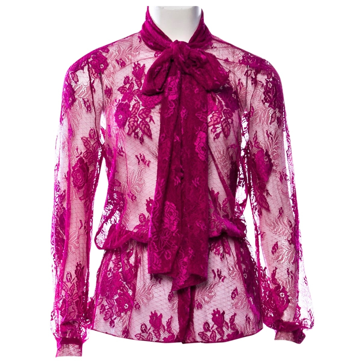 Balenciaga \N Pink Silk  top for Women 40 FR
