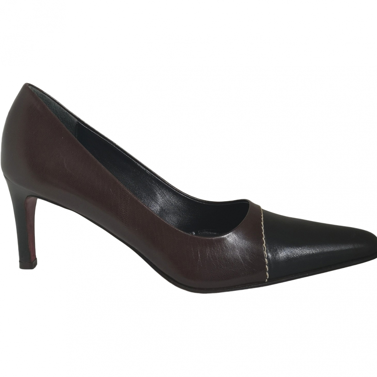 Georges Rech \N Brown Leather Heels for Women 38.5 EU