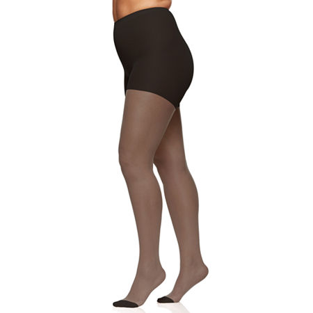 Berkshire Hosiery Silky Sheer Pantyhose Plus, 7x , Black