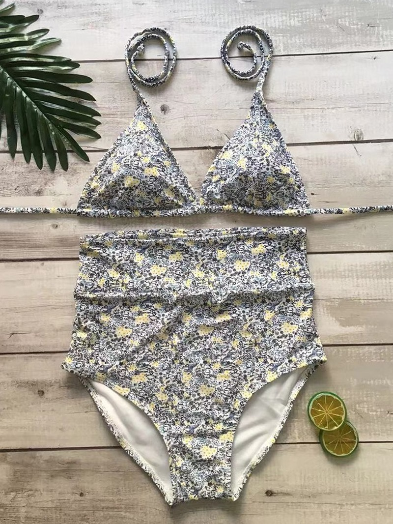 Ericdress Print Plant Skimppy Fashion Swimsuit