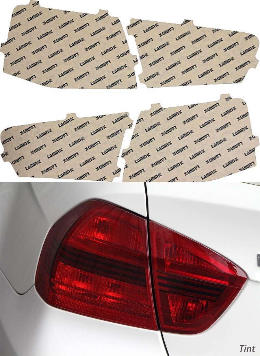Audi S6 13-15 Tint Tail Light Covers Lamin-X A236T