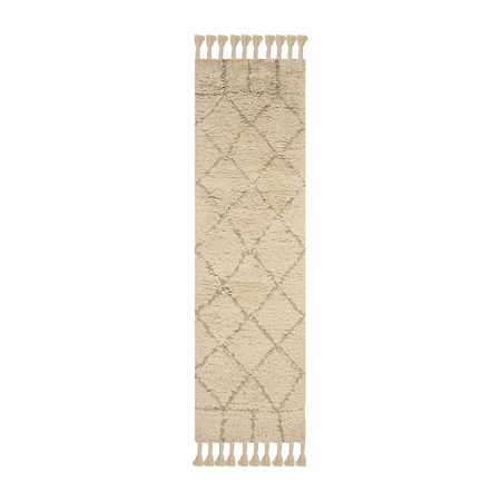 Safavieh Casablanca Collection Fechin Geometric Runner Rug, One Size , Multiple Colors