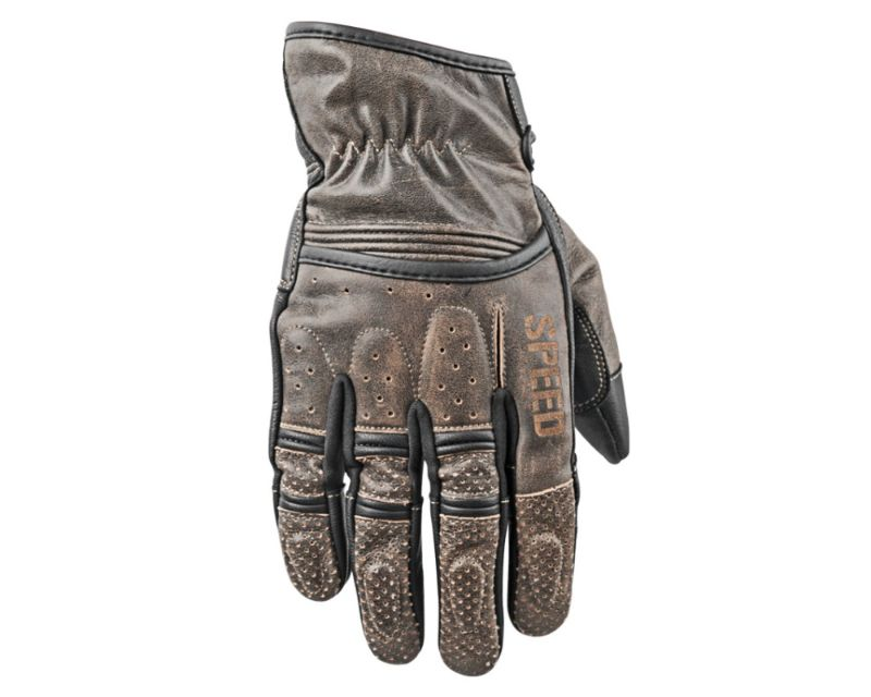 Speed and Strength 878629 Rust And Redemption Leather Gloves Olive XL