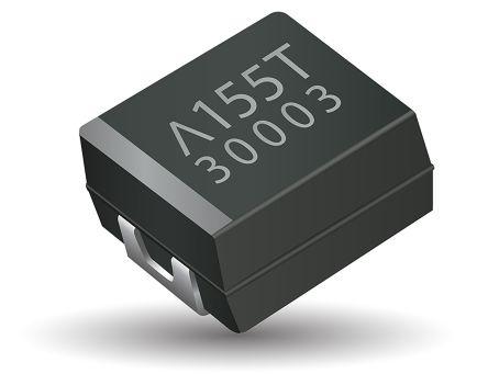 AVX Tantalum Capacitor 68μF 10V dc Polymer Solid ±20% Tolerance , TCQ (500)