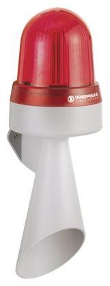 Werma 435 Horn Beacon 108dB, Red LED, 115 → 230 V ac