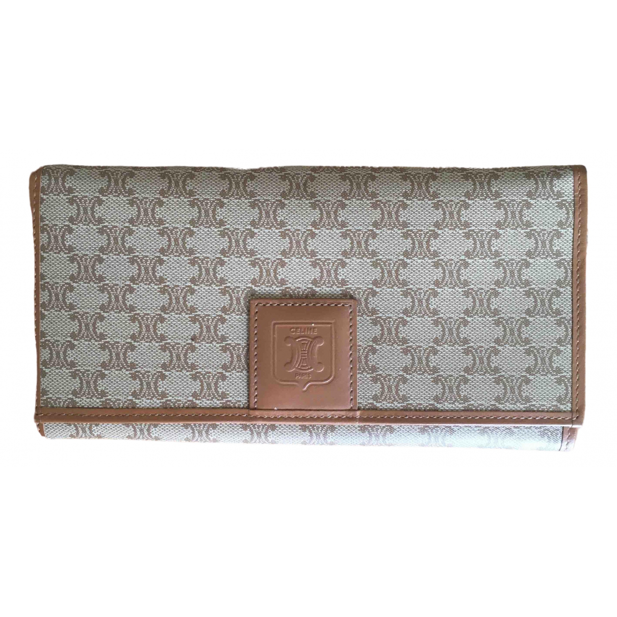 Celine \N Camel Cloth wallet for Women \N