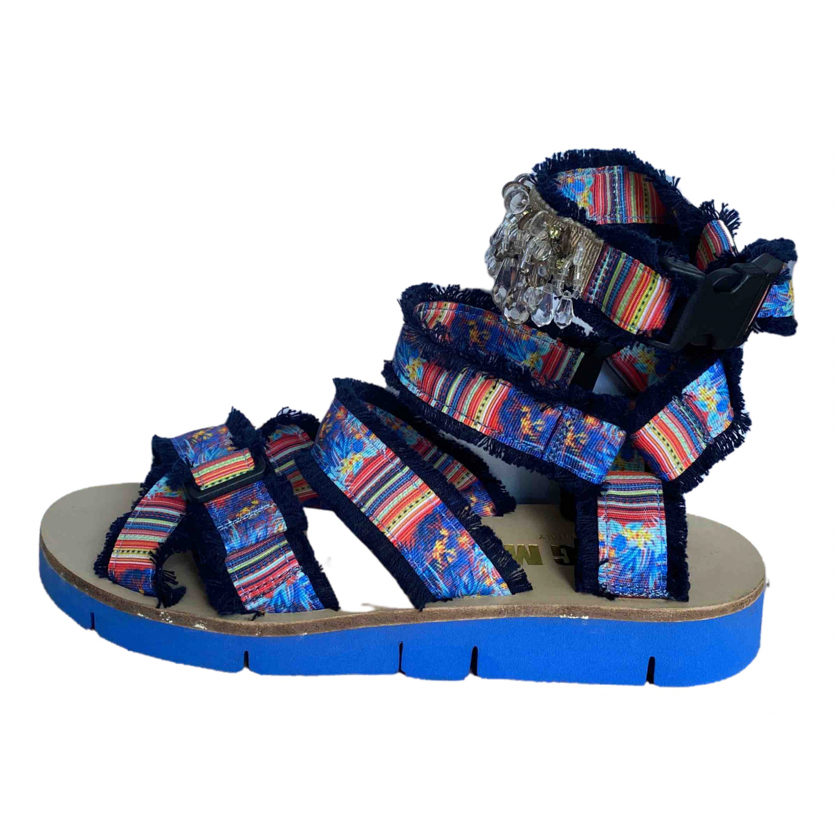 Msgm \N Multicolour Cloth Sandals for Women 35 EU
