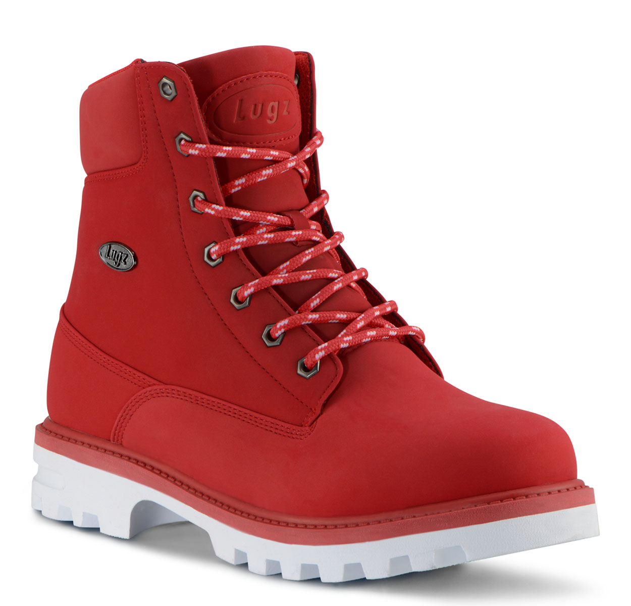 Men's Empire Hi Water Resistant 6-Inch Boot (Choose Your Color: MARS RED/WHITE, Choose Your Size: 12.0)