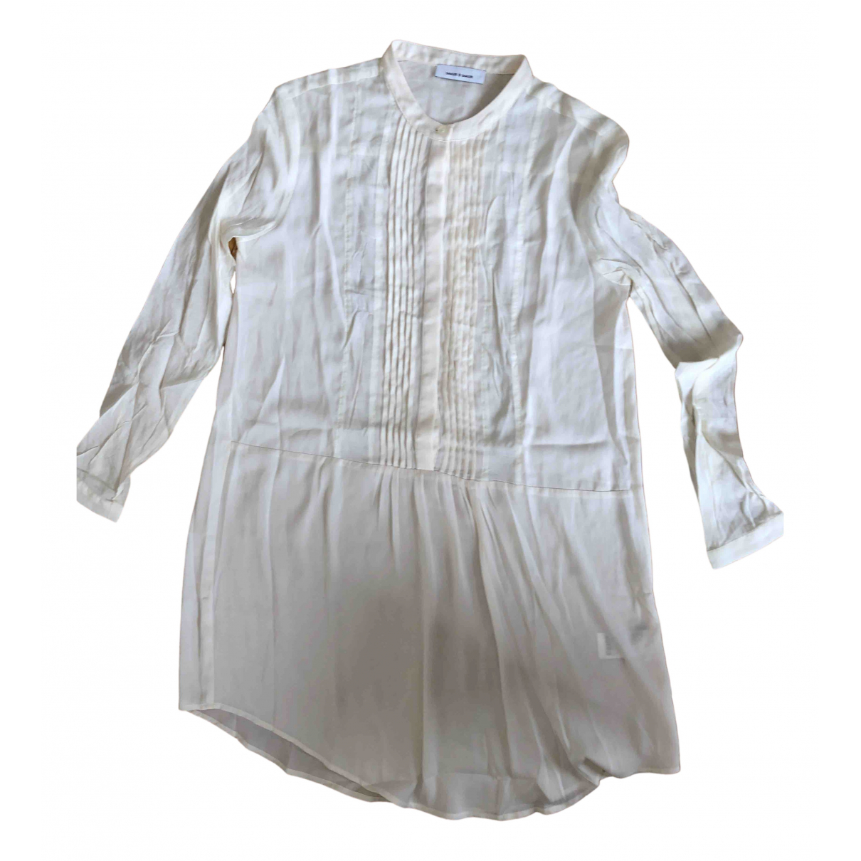 Samsoe & Samsoe \N Ecru dress for Women S International