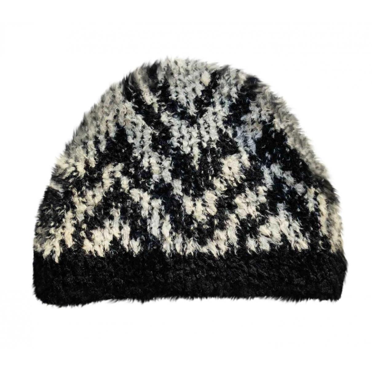 Kris Van Assche \N Black Wool hat & pull on hat for Men 56 cm