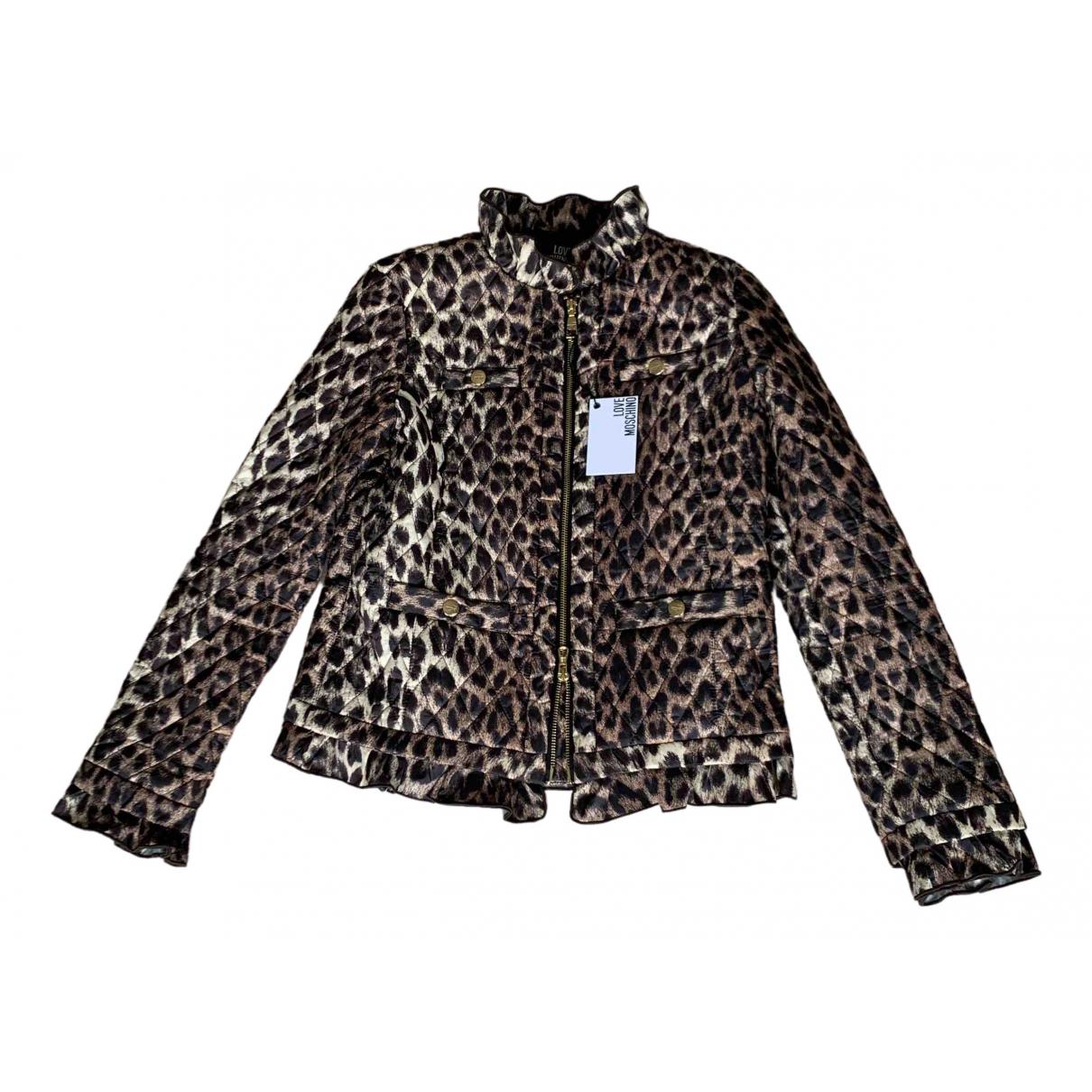 Moschino Love \N Beige jacket for Women 38 FR