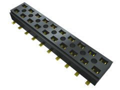 Samtec , CLT 2mm Pitch 6 Way 2 Row Straight PCB Socket, Surface Mount, Solder Termination (1000)