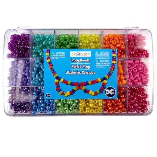 Creatology™ Pony Beads Set | Michaels®