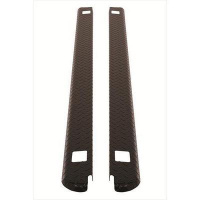 Dee-Zee Black-Tread Side Bed Caps - DZ31994B