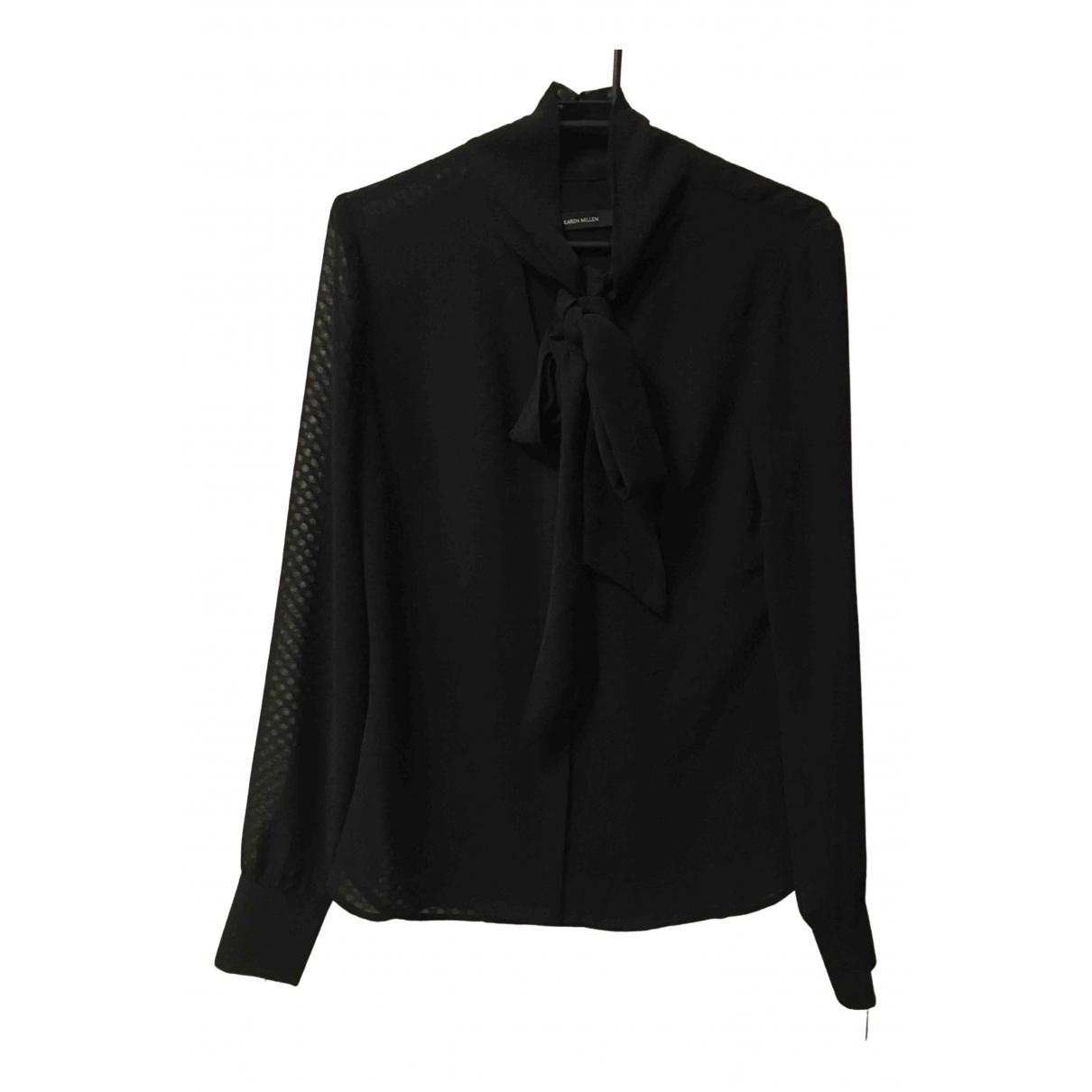 Karen Millen \N Black  top for Women 8 UK