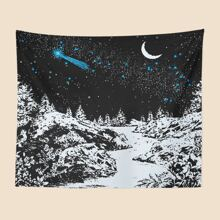 Scenery Pattern Tapestry