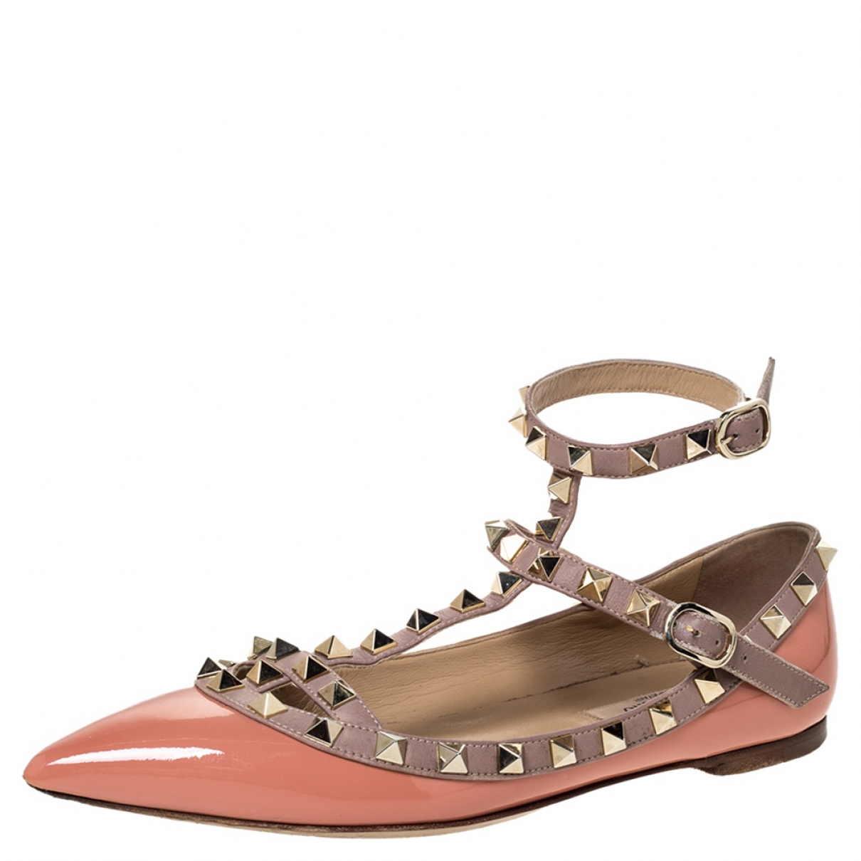 Autre Marque \N Pink Patent leather Sandals for Women 4.5 US