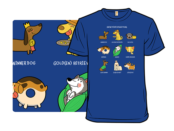 Know Your Doggo Puns T Shirt