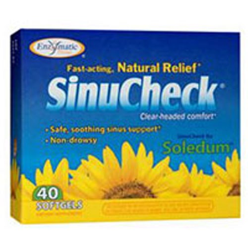 SinuCheck 40 soft gels by Enzymatic Therapy