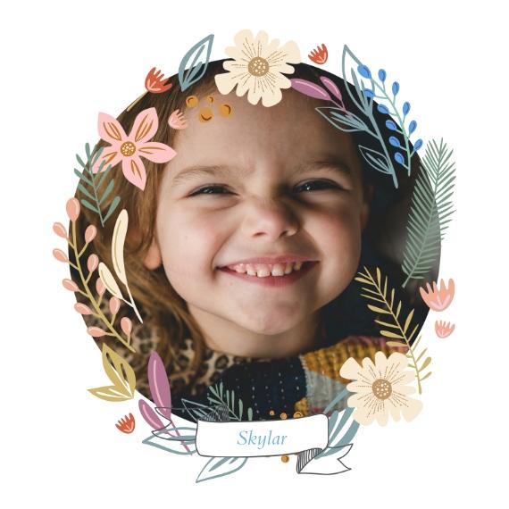 Everyday 8x8 Designer Print - Matte, Prints -Wonderful Wreath