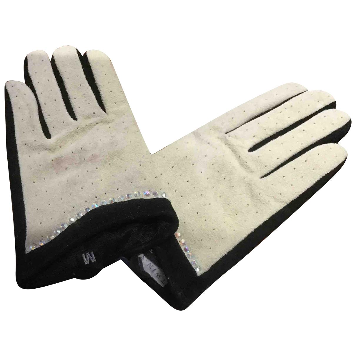 Twin Set \N Suede Gloves for Women M International