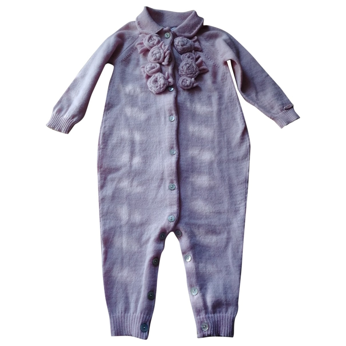 I Pinco Pallino \N Pink Wool Outfits for Kids 6 months - up to 67cm FR