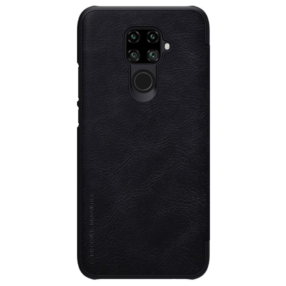 NILLKIN Protective Leather Phone Case For HUAWEI Nova 5i Pro Smartphone - Black
