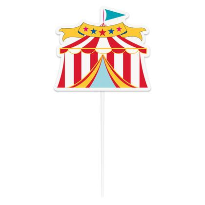Circus Tent Cake Topper Pour la fête d'anniversaire