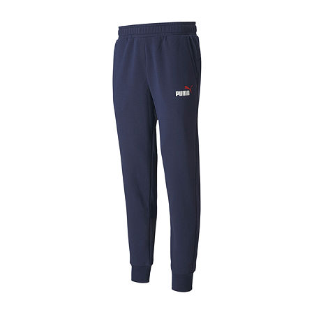Puma Mens Regular Fit Puma Essentials Jogger Pant, Large , Blue