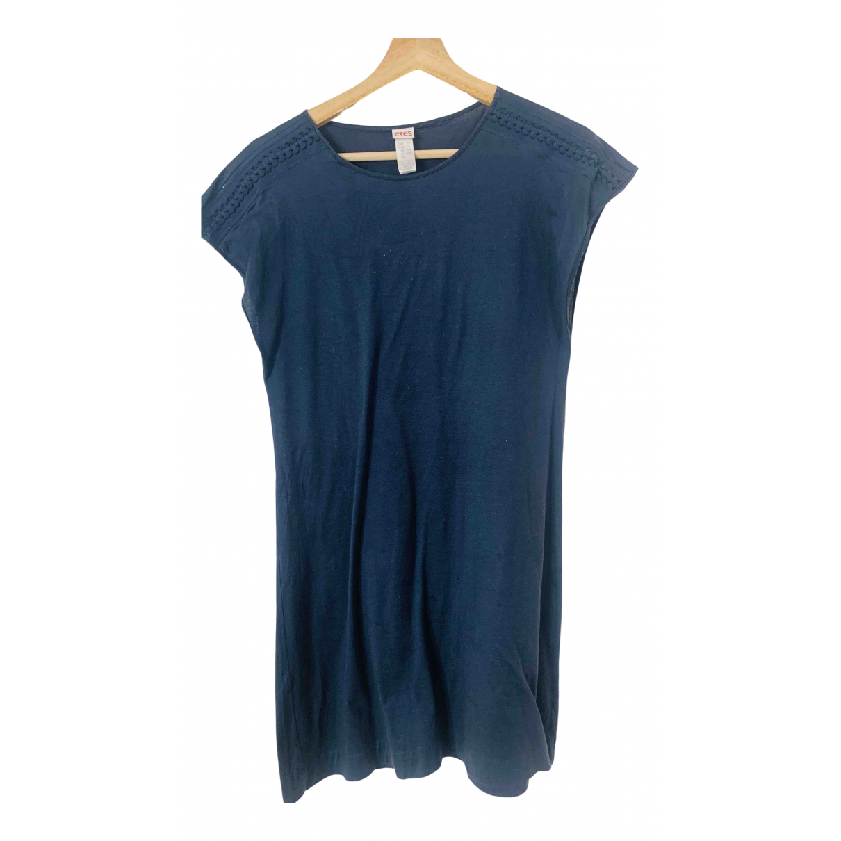 Eres \N Navy Cotton dress for Women 36 FR
