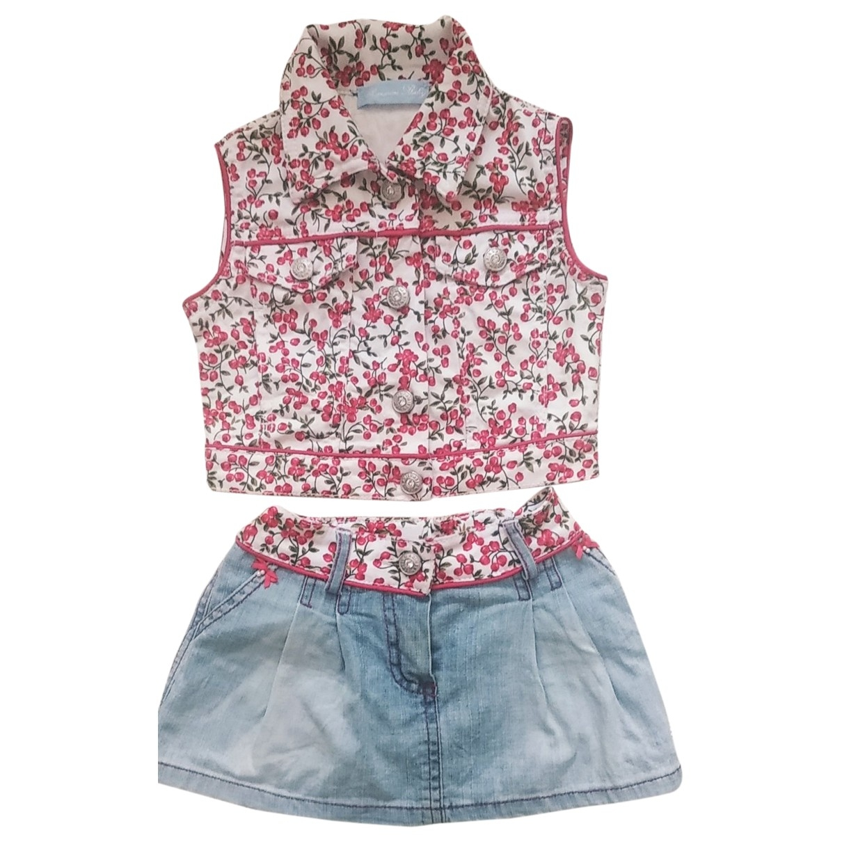 Blumarine \N Red Cotton Outfits for Kids 12 months - up to 74cm FR