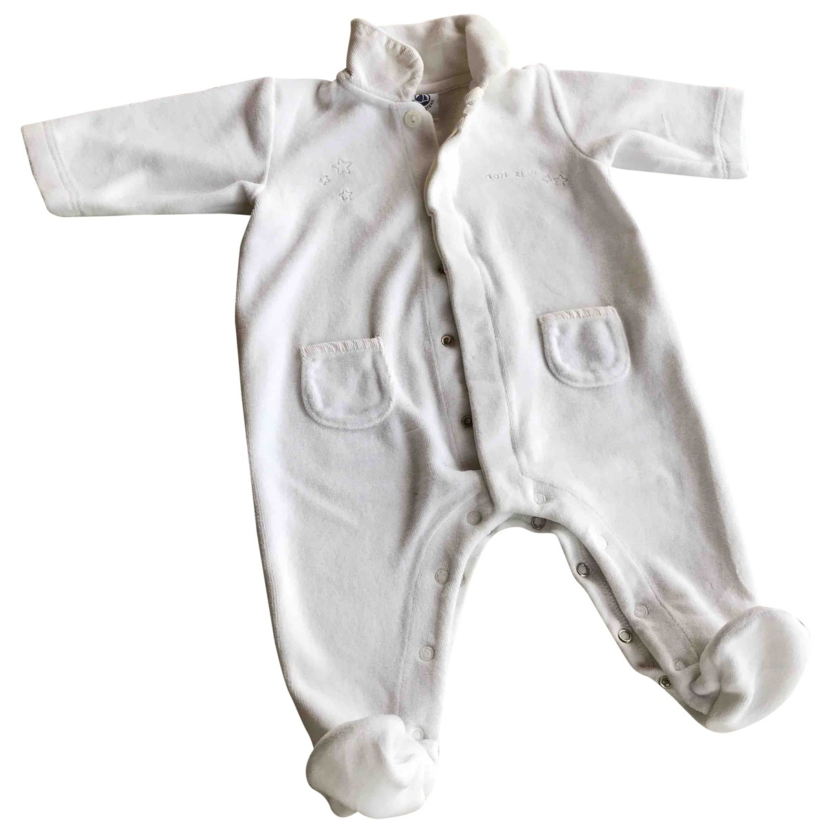 Petit Bateau \N White Cotton Outfits for Kids 3 months - up to 60cm FR