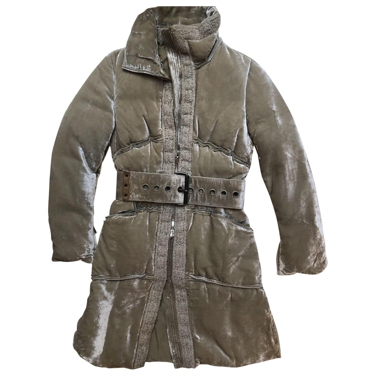 Ermanno Scervino \N Green coat for Women 40 IT