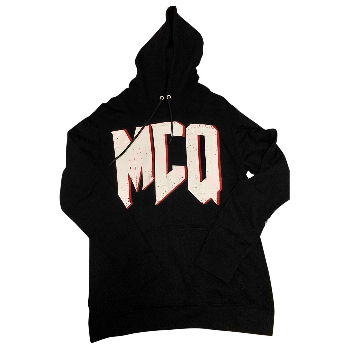 Mcq \N Black Cotton Knitwear & Sweatshirts for Men XL International