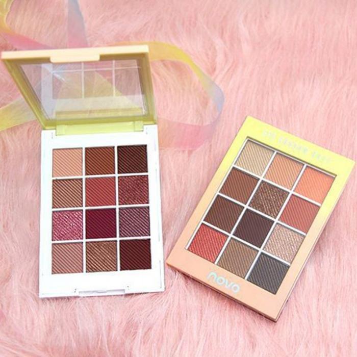 Rainbow Sugar Matte Eyeshadow Palette Maple Leaf Long-Lasting Eyeshadow Palette Eye Makeup