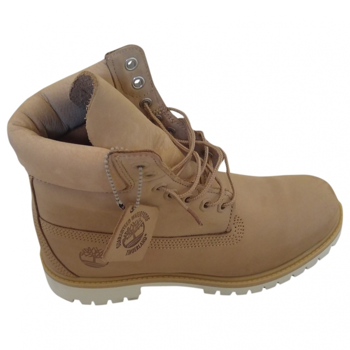 Timberland \N Yellow Leather Boots for Men 42 EU