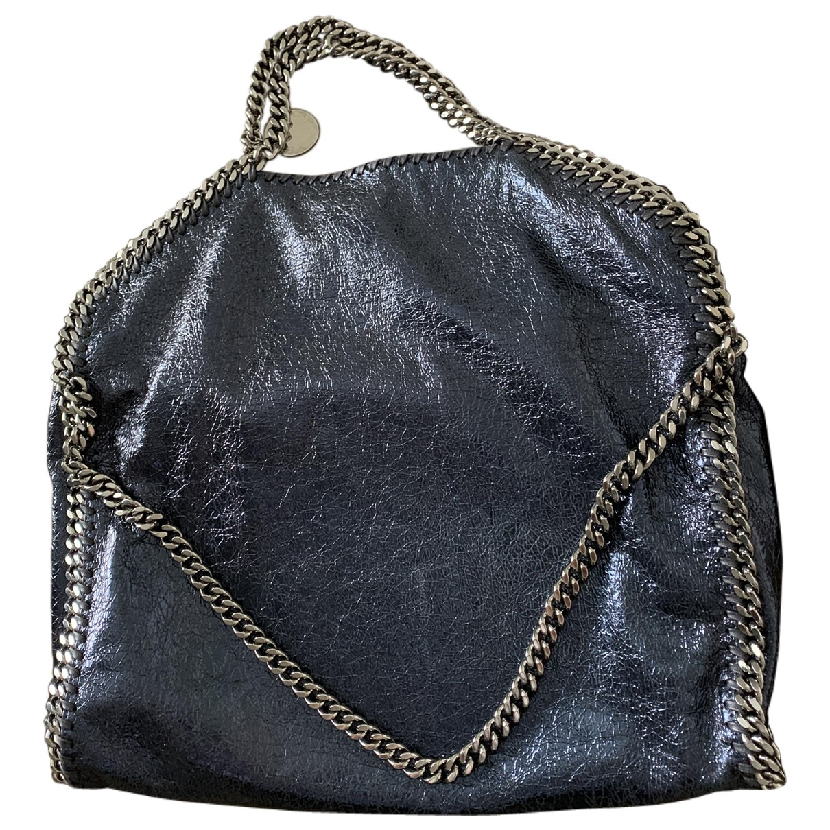 Stella Mccartney Falabella Navy Cloth handbag for Women \N