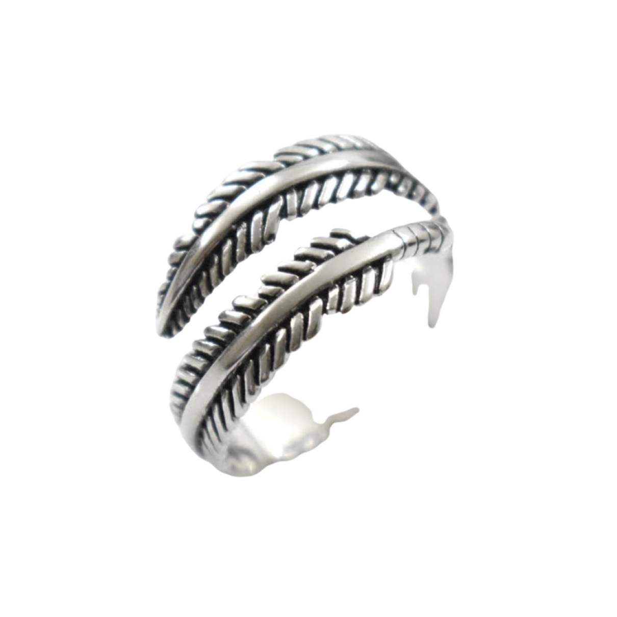 Non Signé / Unsigned \N Silver Silver ring for Women 60 MM
