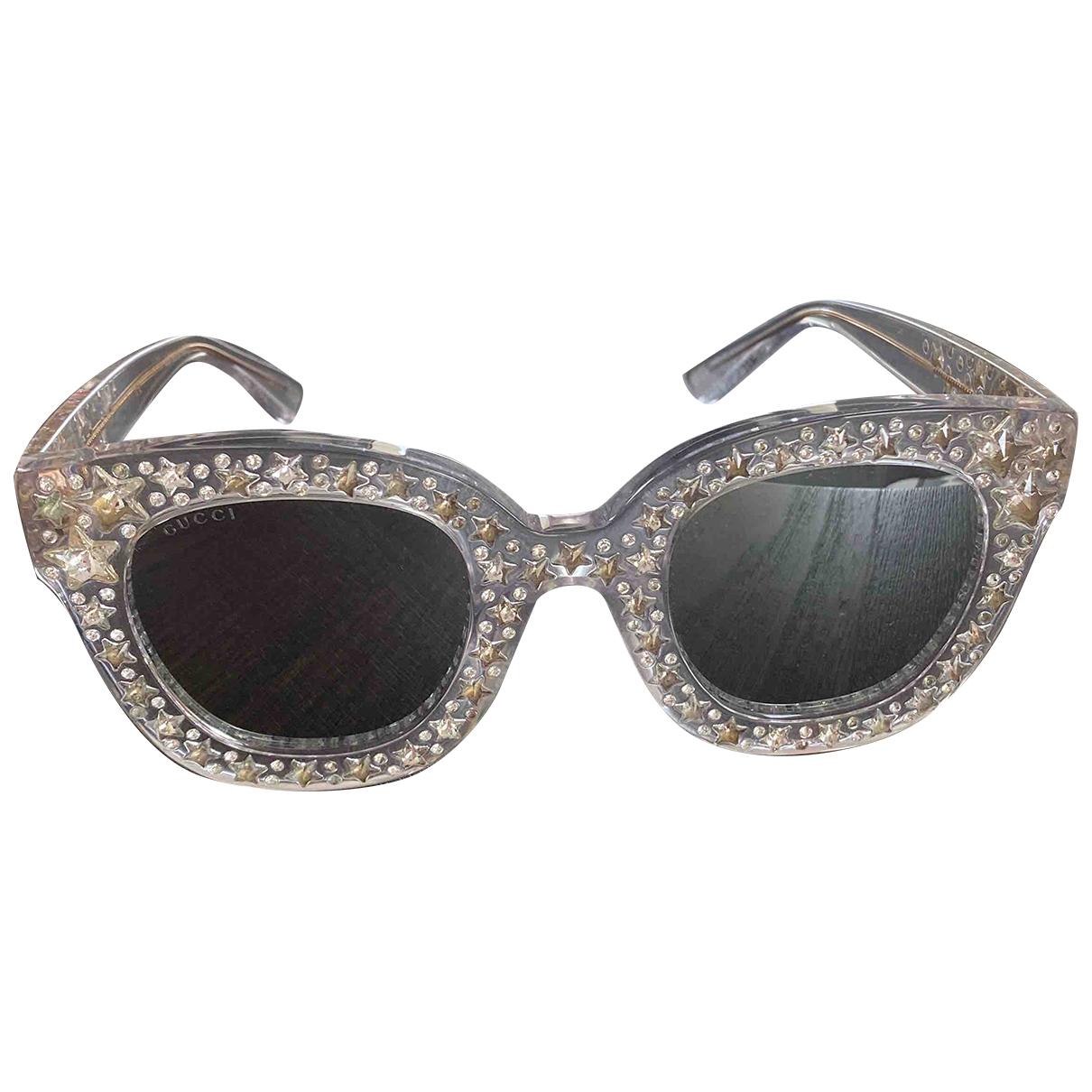 Gucci \N Silver Sunglasses for Women \N