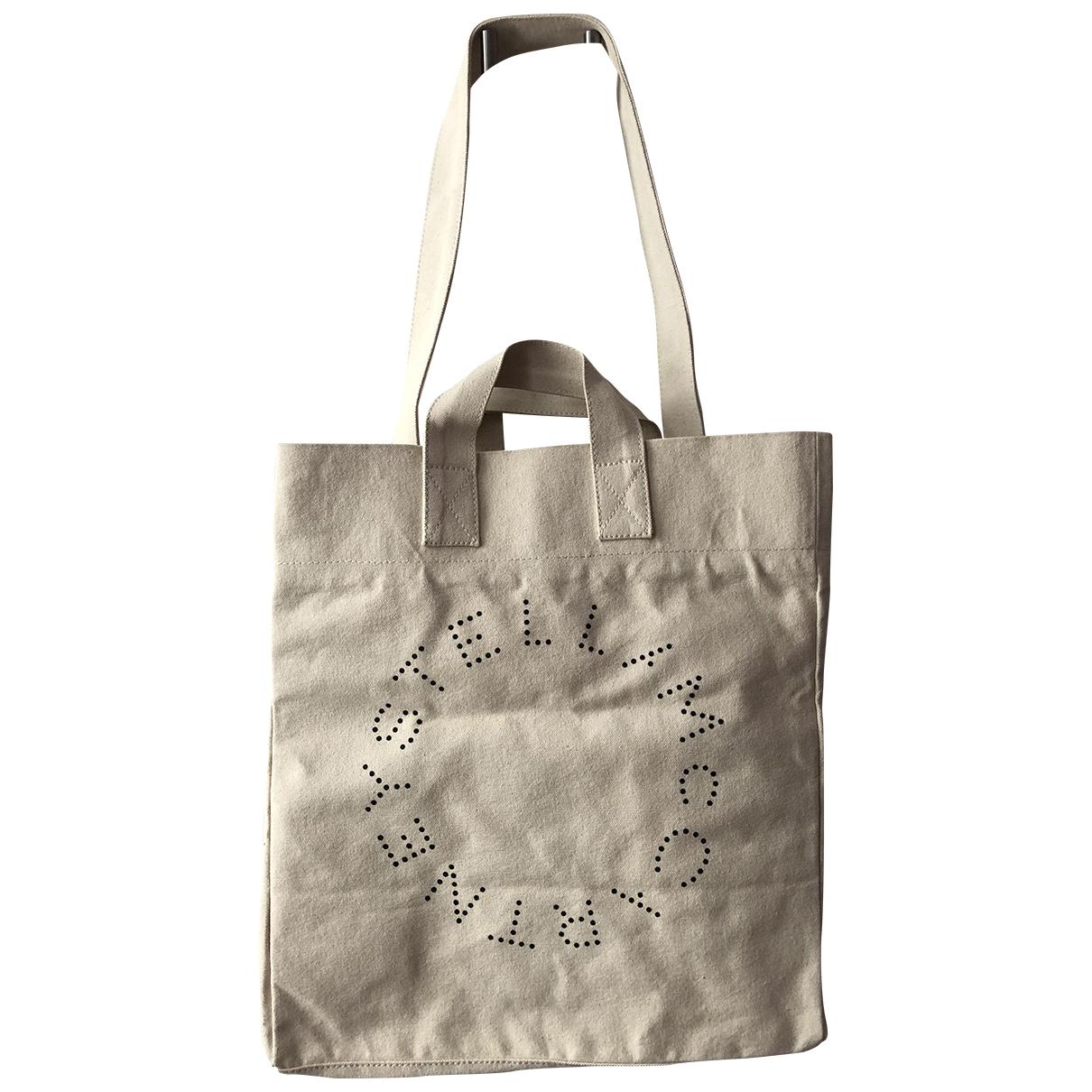 Stella Mccartney \N Ecru Cotton handbag for Women \N