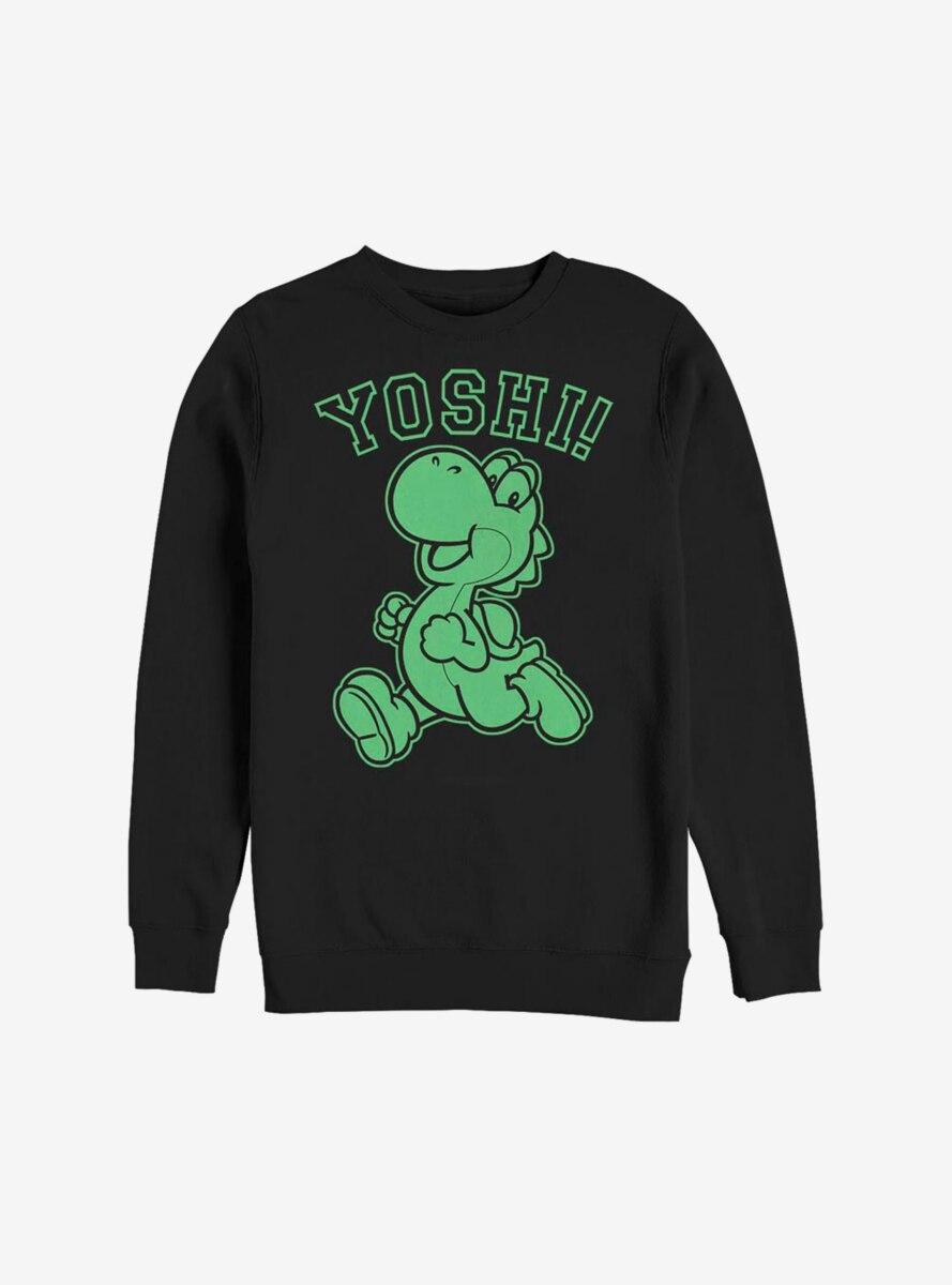 Nintendo Super Mario Green Yoshi Sweatshirt