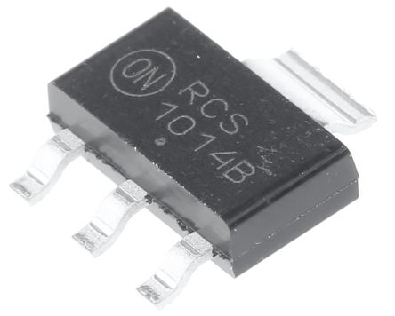 ON Semiconductor NCP1014ST100T3G, SMPS Controller 3 + Tab-Pin, SOT-223 (5)