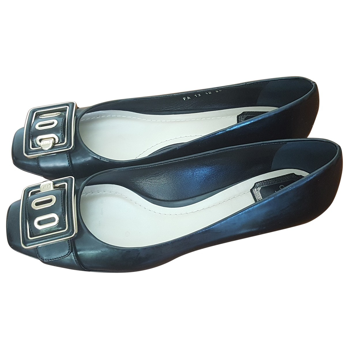 Dior \N Black Patent leather Ballet flats for Women 39 EU
