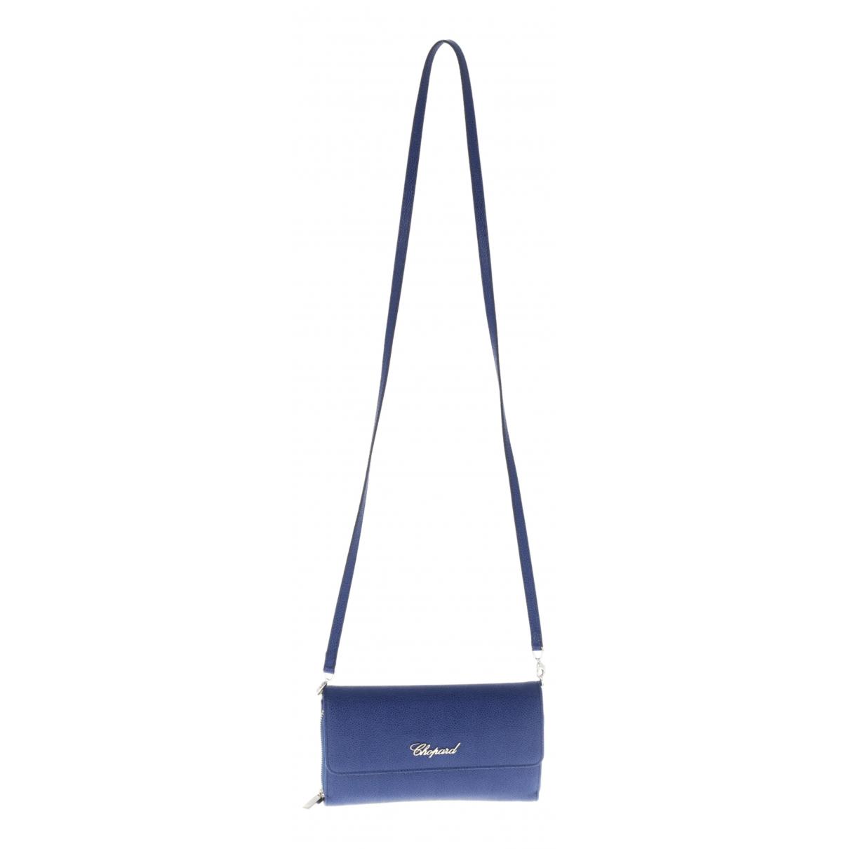 Chopard \N Blue Leather Clutch bag for Women \N
