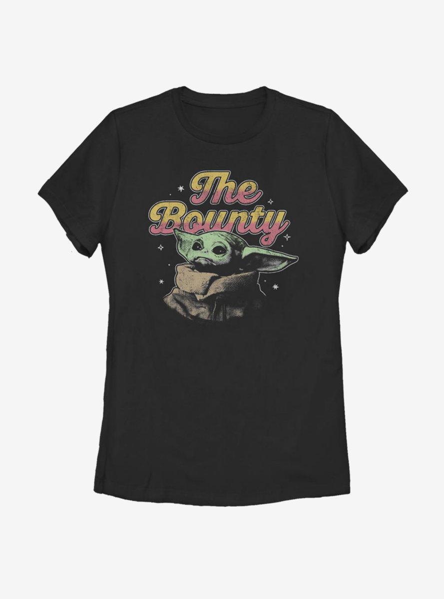 Star Wars The Mandalorian The Child Bounty Womens T-Shirt